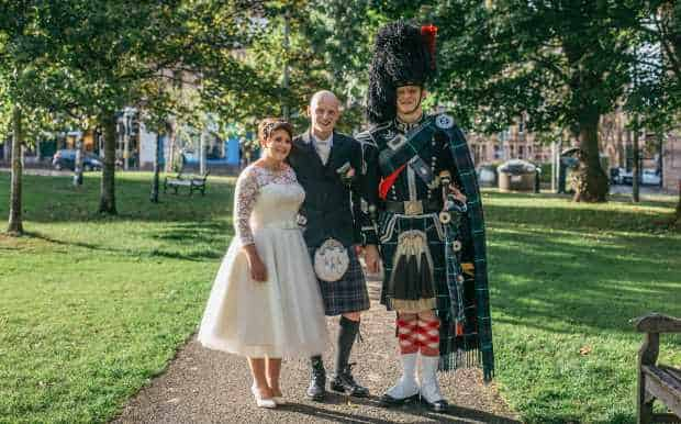 Wedding Piper Uniform