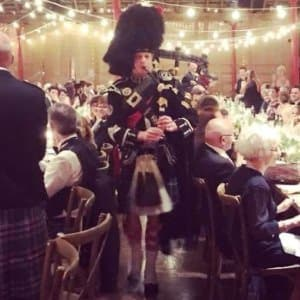 Edinburgh Piper for Hire Birthday Parties