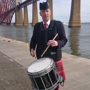 Drum Major Brian Alexander