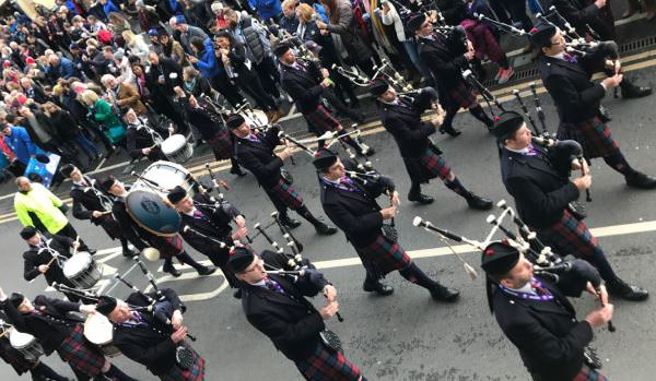 Hire a Pipe Band Edinburgh