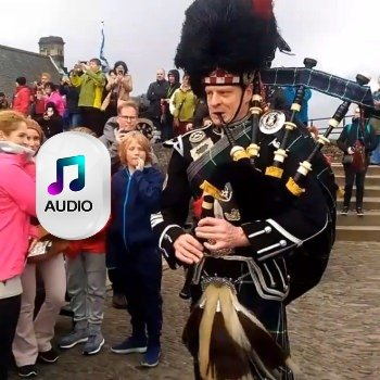 Edinburgh Wedding Piper for Hire Recordings