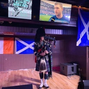 Bagpiper Corporate Event