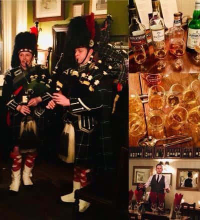 Burns Supper Bagpiper