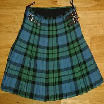 Mackay kilt pleated to sett