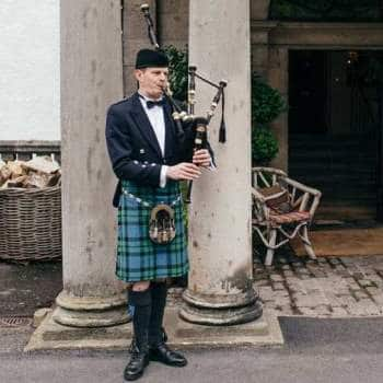 Bagpiper Uniform Prince Charlie Outfit